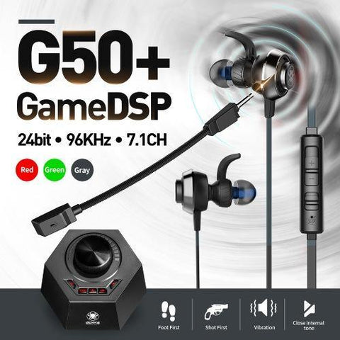 PLEXTONE G50 SUPER GAMING EARPHONES QUAKE VIBRATION GAME DSP STEREO 24BIT 96KHZ PC HEADPHONES WITH DETACHABLE LONG MIC HEADSET NOISE REDUCTION COMPATIBLE WITH GAMING PC MOBILE price in Nepal