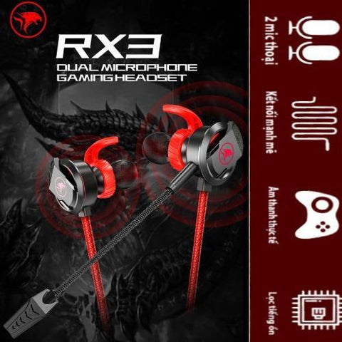 PLEXTONE MOWI RX3 DUAL MICROPHONE GAMING HEADPHONES price in Nepal