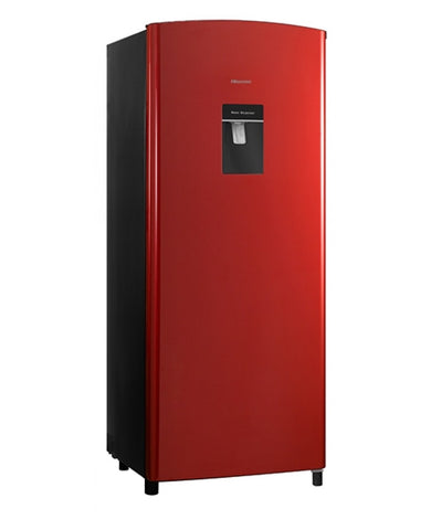 Hisense Refrigerators With Water Dispenser 190 Ltrs Red Color RD-23DR4SW