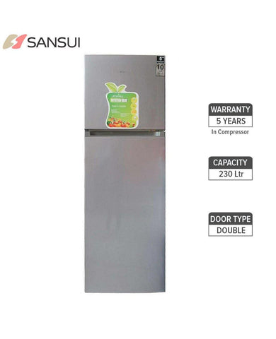 Sansui SPD230DSS Refrigerator 230 Ltr Double Door price in Nepal