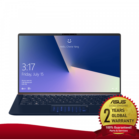 "Asus ZenBook 14 UX434FQ i5 10th Gen / NVIDIA MX350 / 8GB RAM / 512GB SSD / Magic NumPad / 14"" FHD display"