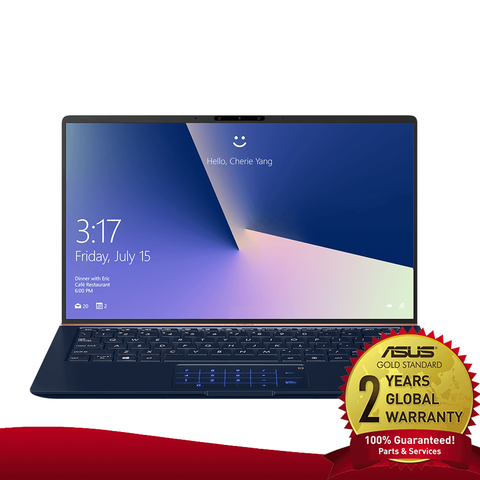 "ASUS ZENBOOK UX434FL i5 10TH GEN/ 512GB SSD/ 8GB RAM/ MX250/ MAGIC NUMPAD/ 14"" FHD"