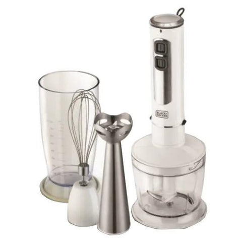 400W Stick Blender With Chopper & Whisk