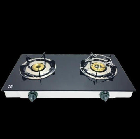 CG 2 Burner Glass Top Gas Cooktop