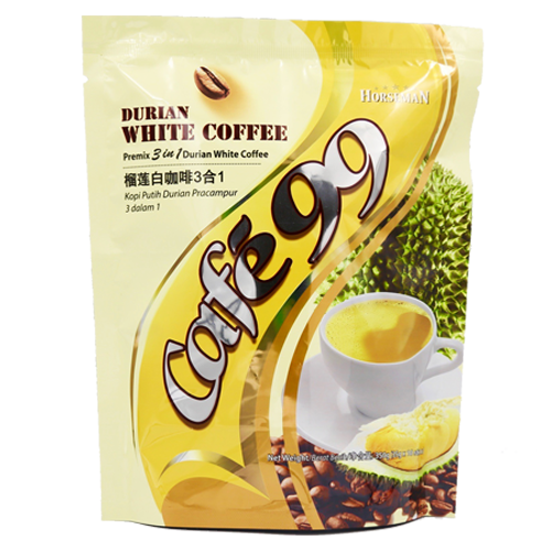 3 in 1 Premix Durian White Coffee is a signature blend of original white coffee beverage with durian powder. Malaysian Coffee, Southern California Coffee, Best Coffee, Coffee, Best Coffee Prices,