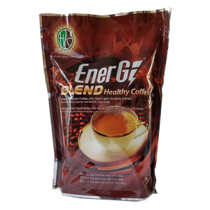 Energy Blend Healthy Coffee is a perfect mix of instant gourmet coffee. Reishi and Ginseng extracts specially blended with non-dairy creamer and natural cane sugar. Its delightful aroma and delicious flavor makes every cup a perfect coffee bevetage anytime. Malaysian Coffee, Southern California Coffee, Best Coffee, Coffee, Best Coffee Prices,