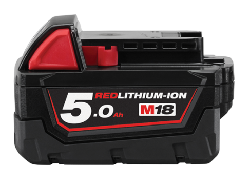 Milwaukee 18v 5.0Ah Li-Ion Battery