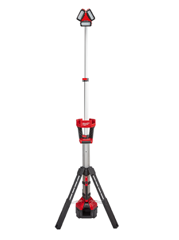 Milwaukee 18v LED Light Stand / Charger