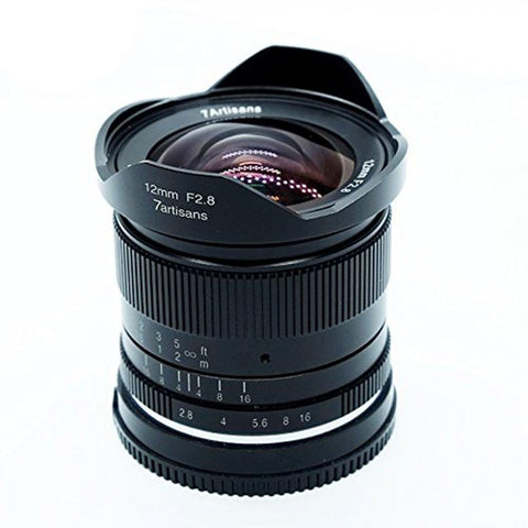 7Artisans 12mm F2.8 Ultra-Wide Lens (APS-C)