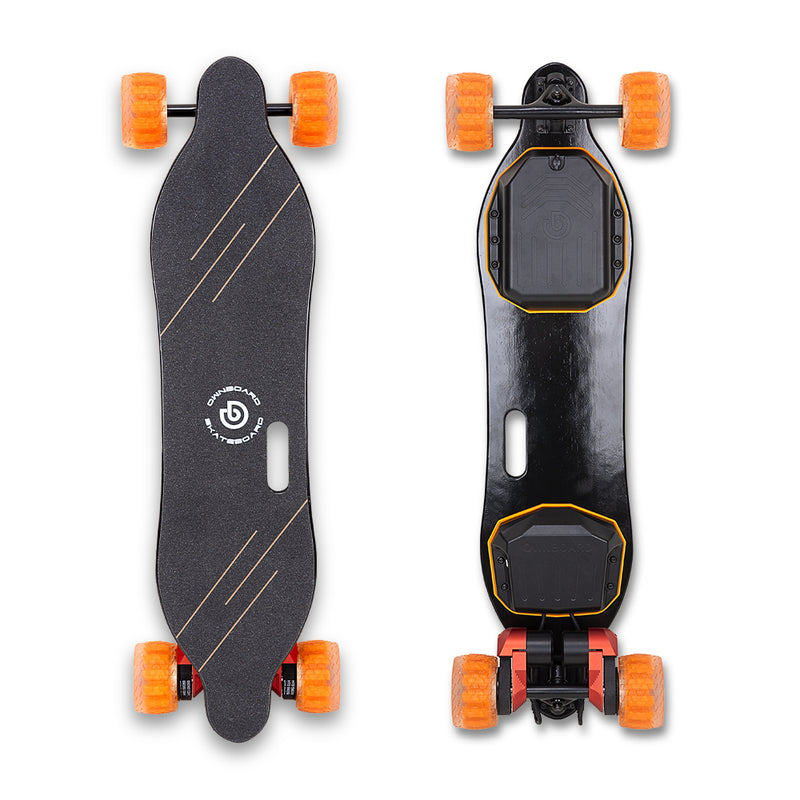 "Ownboard W2 PRO (38"") - Dual Belt Electric Skateboard with 105mm Cloudwheels"