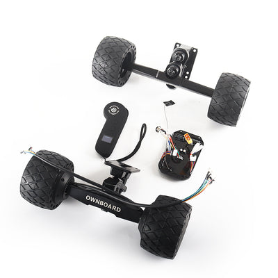 Free Ship Ownboard 105*66mm All Terrain Rubber Motor Kit - ownboard