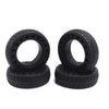 6 inches Rubber Tires (4 Pcs of 1 Sets)