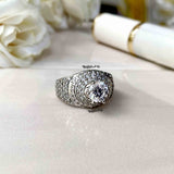 Belle Fancy Cocktail Ring - Boldiful