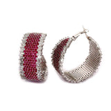 Dulcet Big Silver Hoops - Boldiful