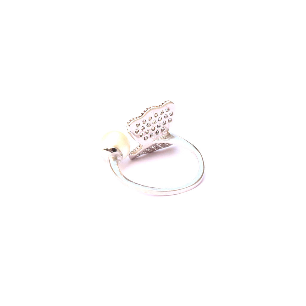 Flutter Silver Knuckle Ring - Boldiful