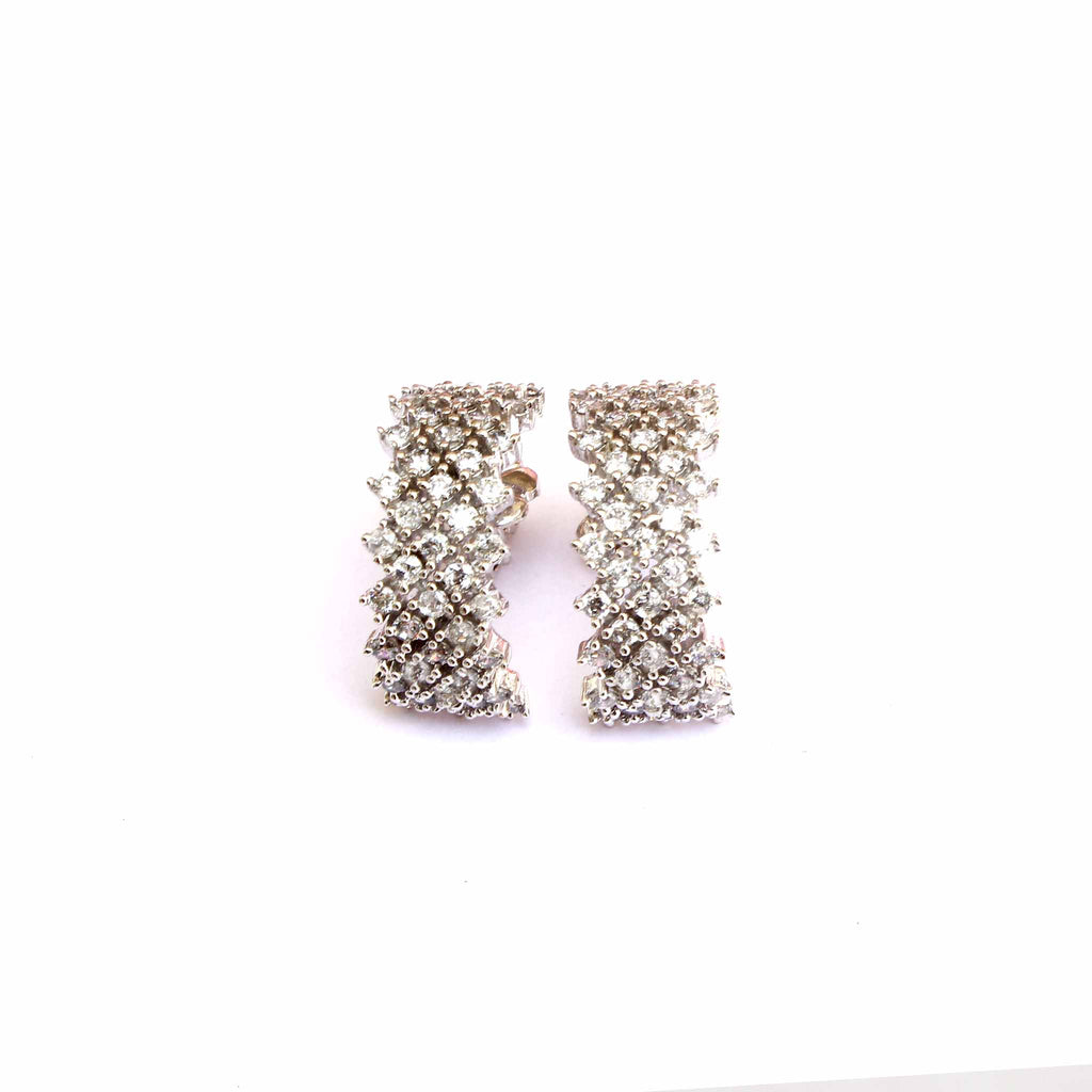 Half Loop Silver Handmade Earrings - Boldiful