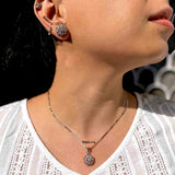 Neoteric Silver Pendant Set with Chain - Boldiful