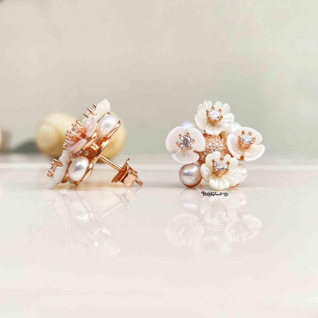 Pearly Bahara Earrings