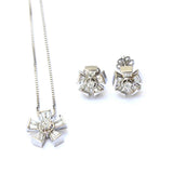 Peppy Silver Pendant Set - Boldiful