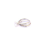 Princess Engagement Zirconia Solitaire 92.5 Silver Ring - Boldiful