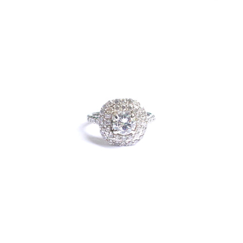 Whether you wear it with contemporary, traditional or casual look the Revere timeless square cubic zirconia ring will speak a lot about your classy and elegant vibe.