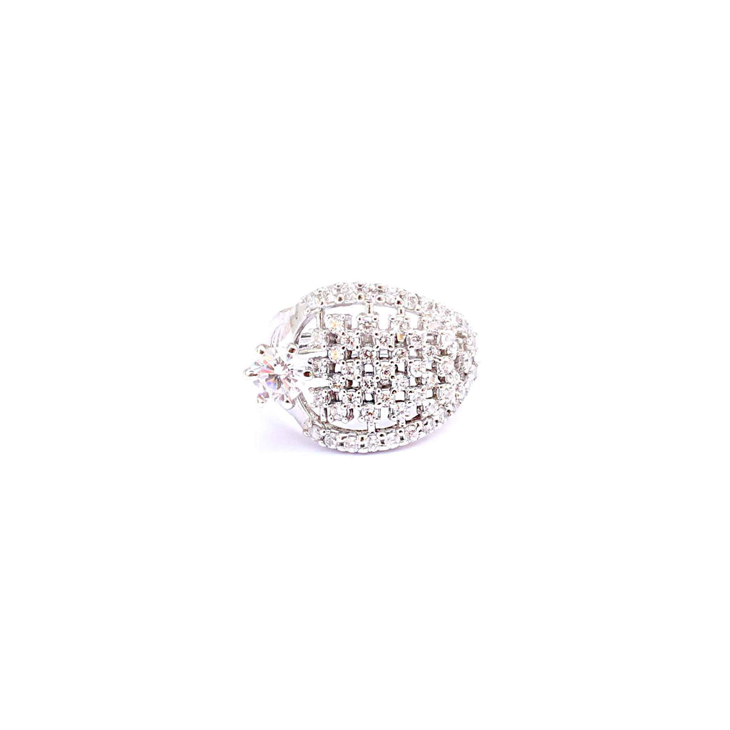 Seraphic Designer Cocktail Ring - Boldiful