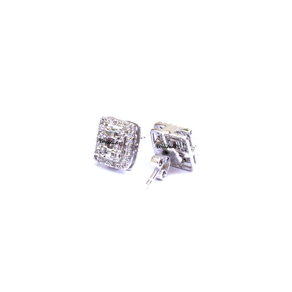 Snappy Silver Earrings 925 - Boldiful