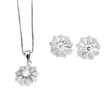 Star Flower Daily Wear Pendant Set