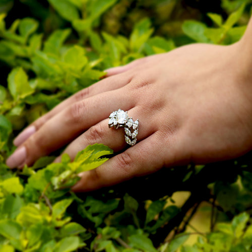 Stellar Solitaire Silver Zirconia Ring is gonna capture the right attention for you