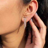 Trinal Silver Earrings