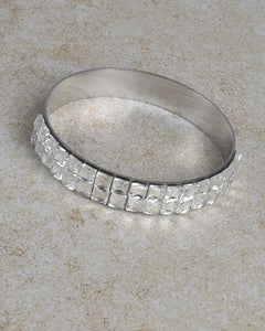 Crystal Accent Bangle Bracelet
