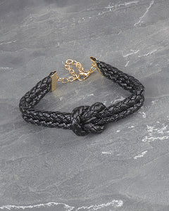 Braided Knot Bracelet with Dual Layer