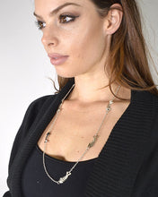 Rolo Chain Necklace with Fish Metal Trims