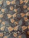 KALAMKARI FABRIC : ANAR GREEN : ANAR YELLOW