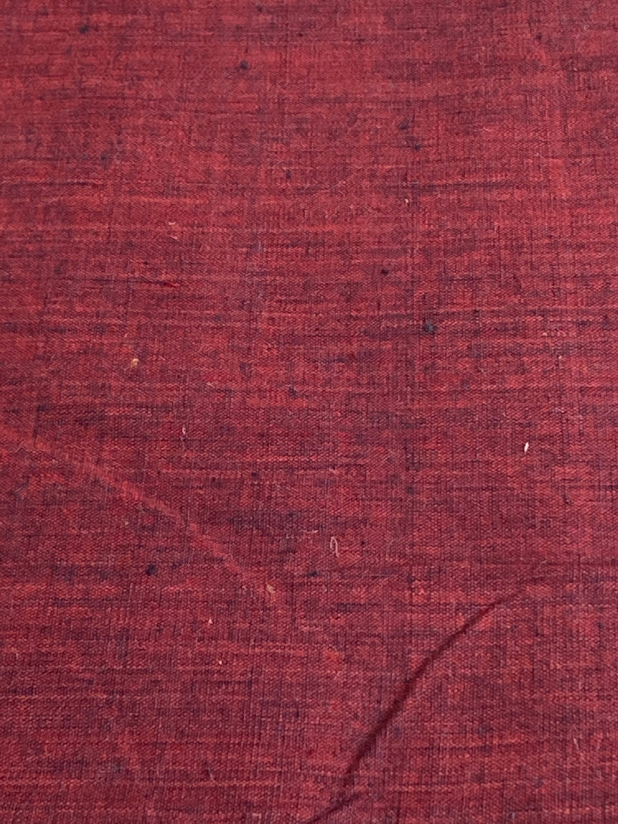 CROSS COLOUR FABRIC : ALIZARIN RED : DARK INDIGO