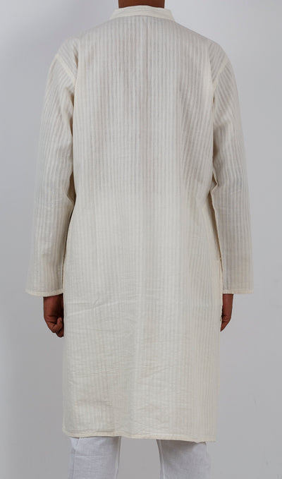 GEOMETRIC KURTA : KORA : LONG SLEEVE