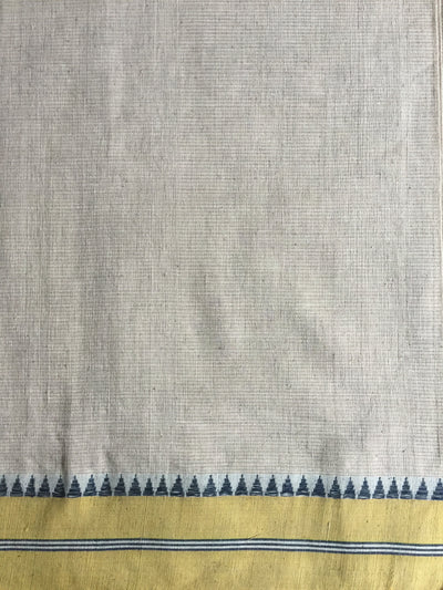 LIGHTWEIGHT CROSS COLOUR SAREE : RATANJYOTI DOVE GRAY : KORA