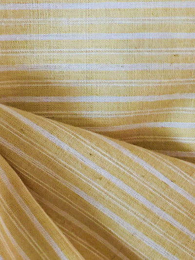 GEOMETRIC FABRIC : KORA : ANAR YELLOW