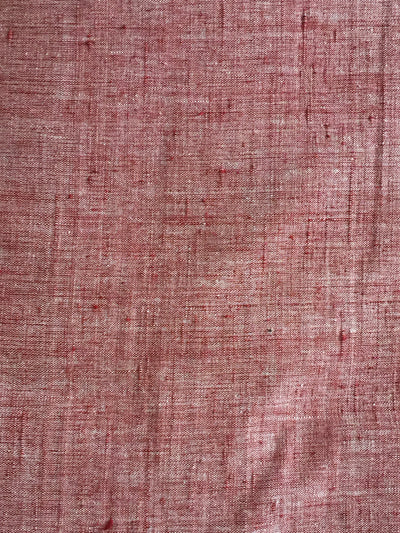 CROSS COLOUR FABRIC : KORA : ALIZARIN RED