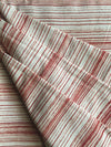WARDHA FABRIC : KORA : MANJISHTHA BRICK RED