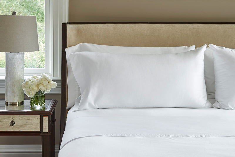 Dreamluxe Snow white Classic Hotel Sheet Set SINGLE/KING SINGLE/DOUBLE/QUEEN/KING - Dreamluxe