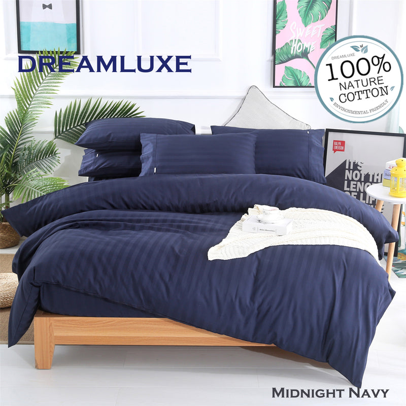 Dreamlux 1000 Thread Count 100%Egyptian Cotton Quilt cover set in Double Queen King - Dreamluxe