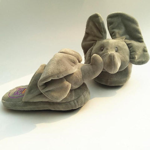Image of Peek A Boo Elephant Slipper