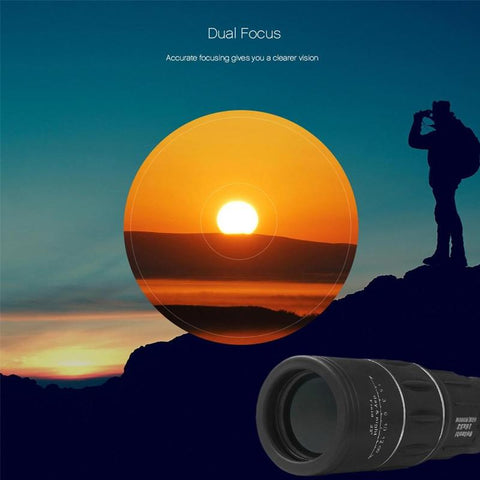 Image of dual focus monocular telescope