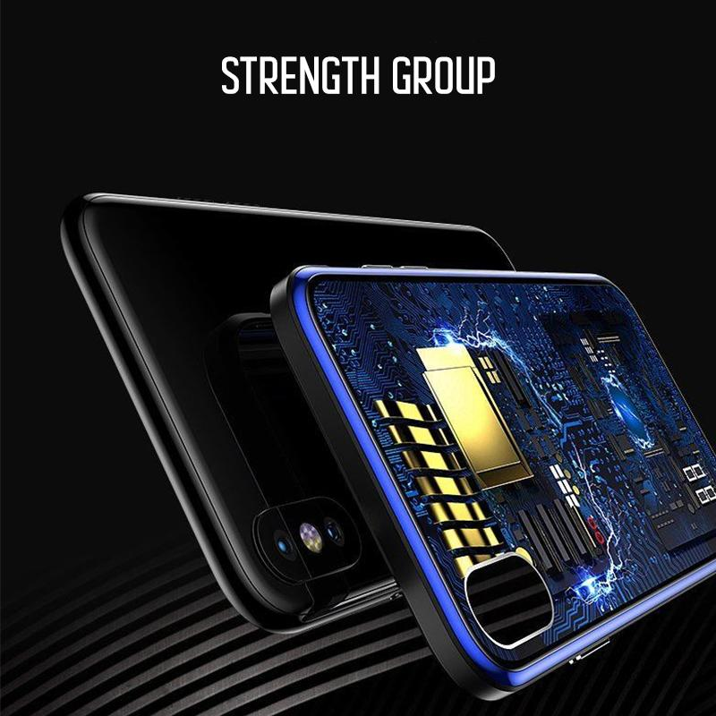 Integrated Circuit Pattern Clear iPhone case