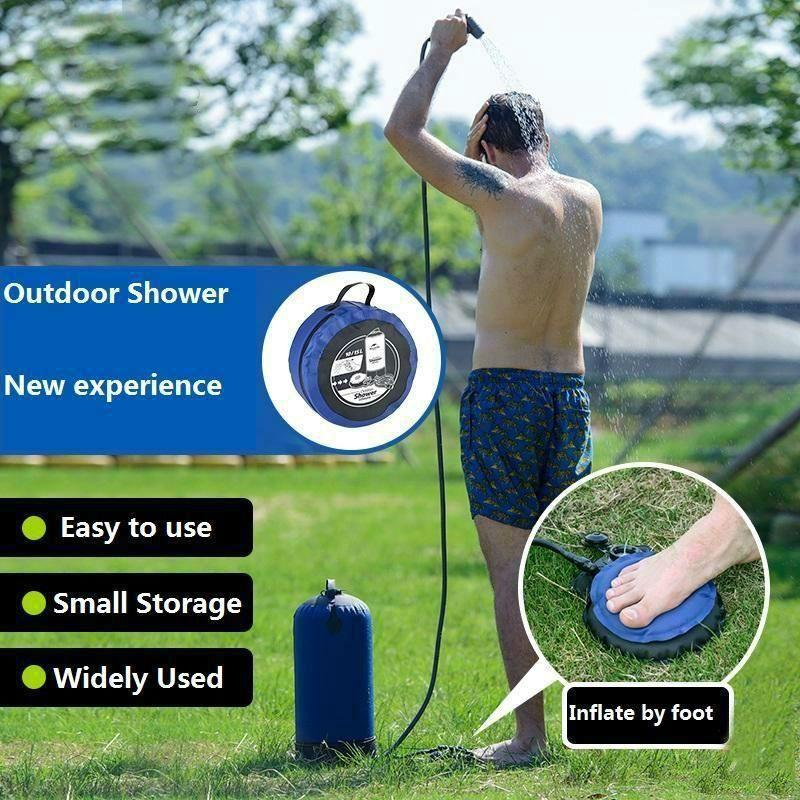 Inflatable Camping Shower Bag