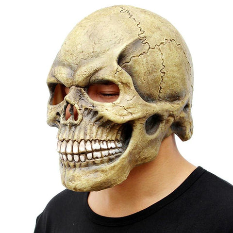 Image of skull halloween mask