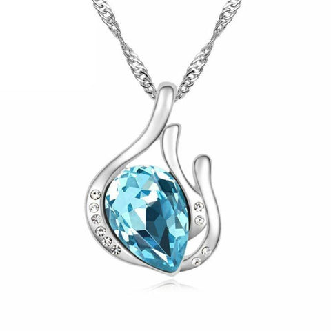 Image of Crystal Pendant Necklace