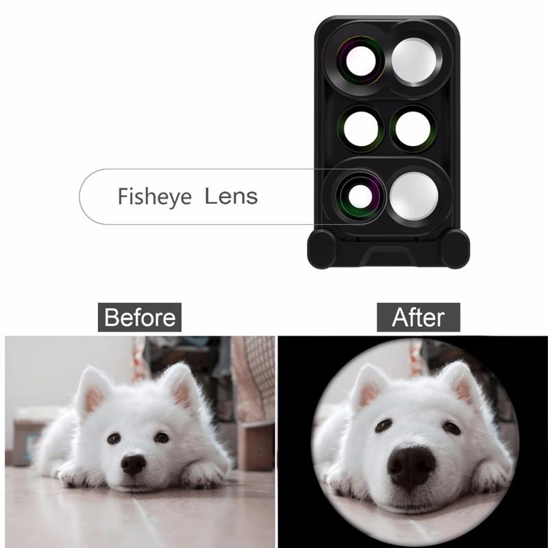 6 in 1 Shooting Lens For iPhone