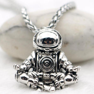 Astronaut Pendant Necklace